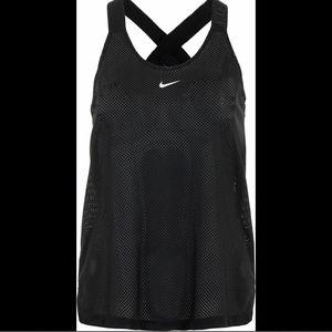 NEW Nike Elastika PERFORATED Tank BLACK M